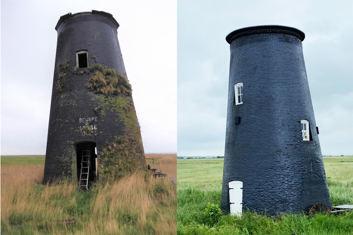 six mile house mill before and after
