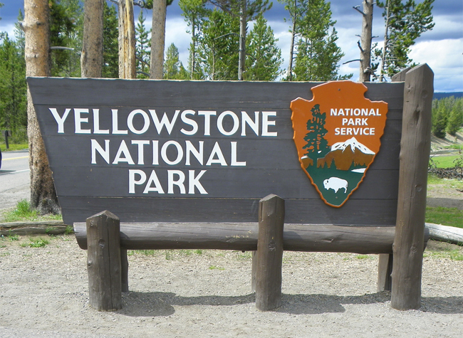 Yellowstone National Park by J Stephen Conn