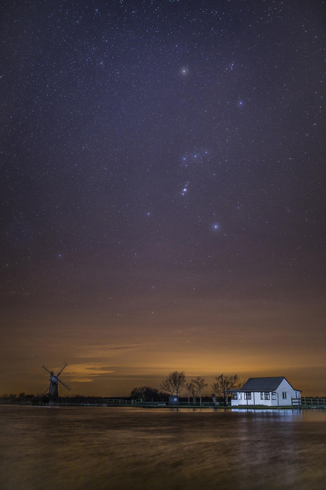 Night sky by Dibs McCallum