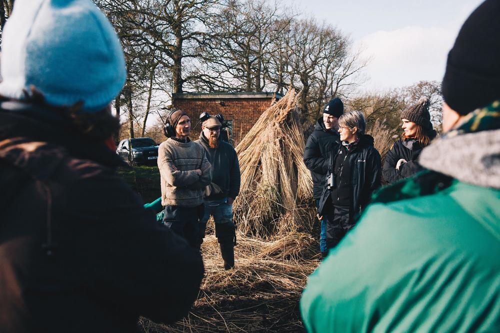 Farmers meet reedcutters at How Hill NNR