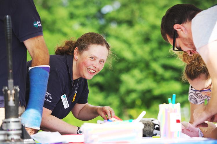 Events volunteer © Julian Claxton