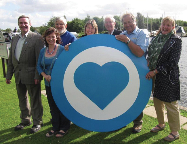 Launch of the Love the Broads scheme