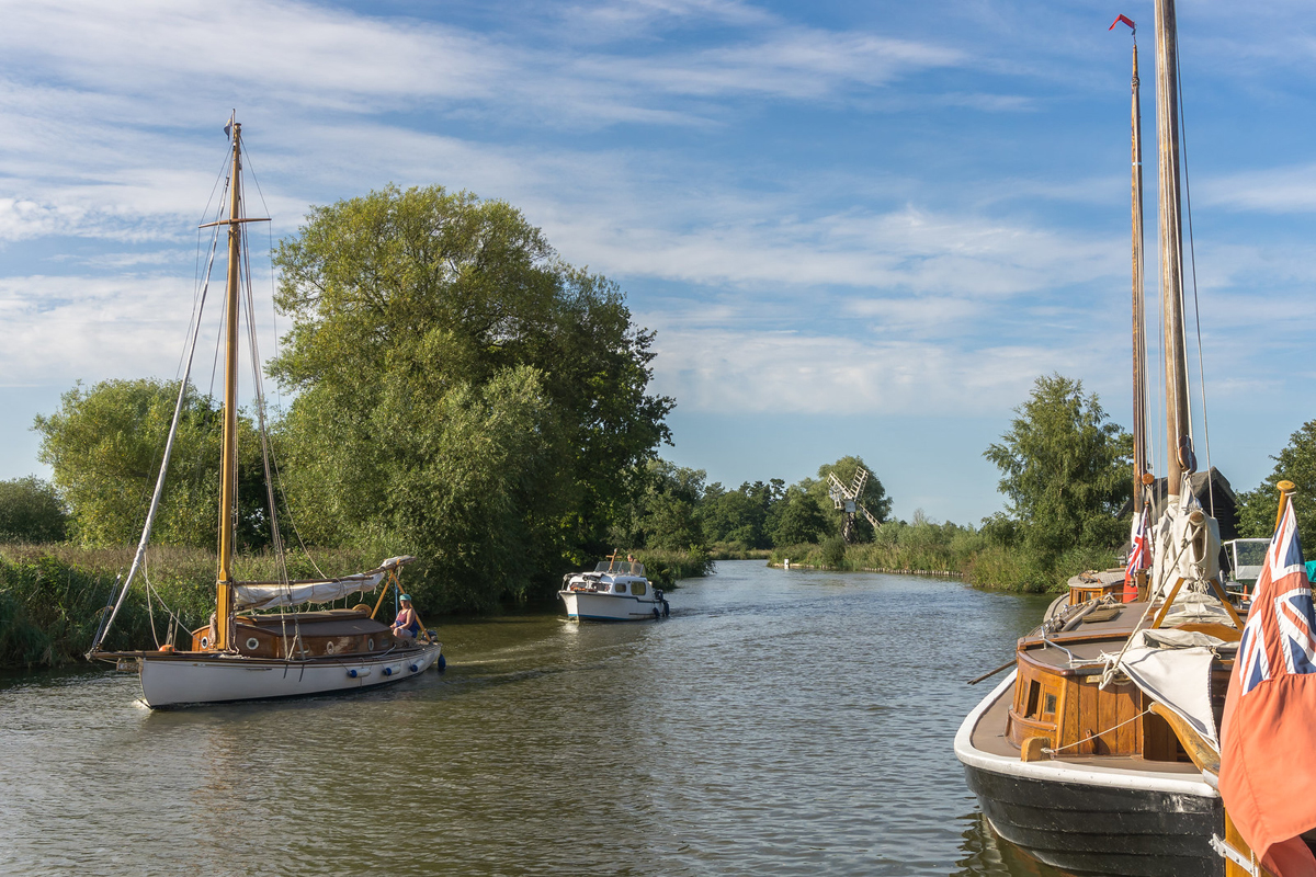 On the River Ant copyright Chris Hill