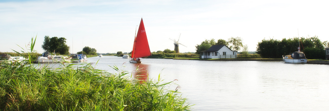 Sailing on the Broads