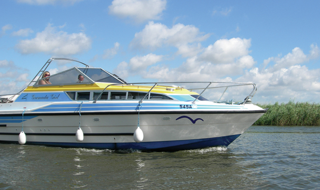 Cruiser on the Broads