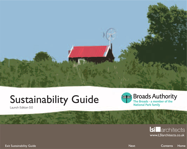 Sustainabilty Guide cover