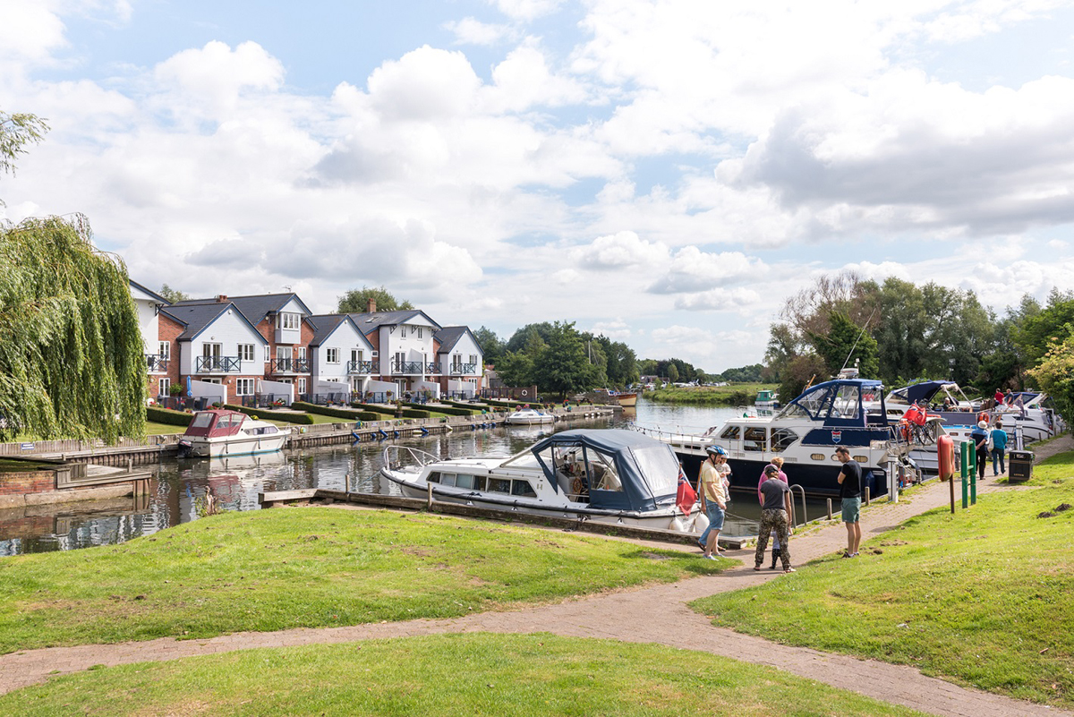 The Broads in summer by James Bass
