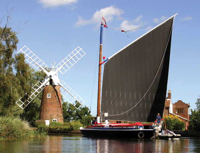 Hunsett Mill and Wherry Albion