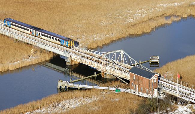 Somerleyton Swing Bridge
