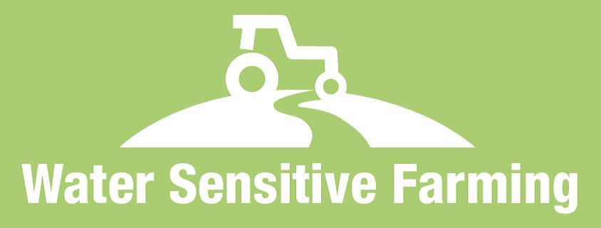Water sensitive farming logo