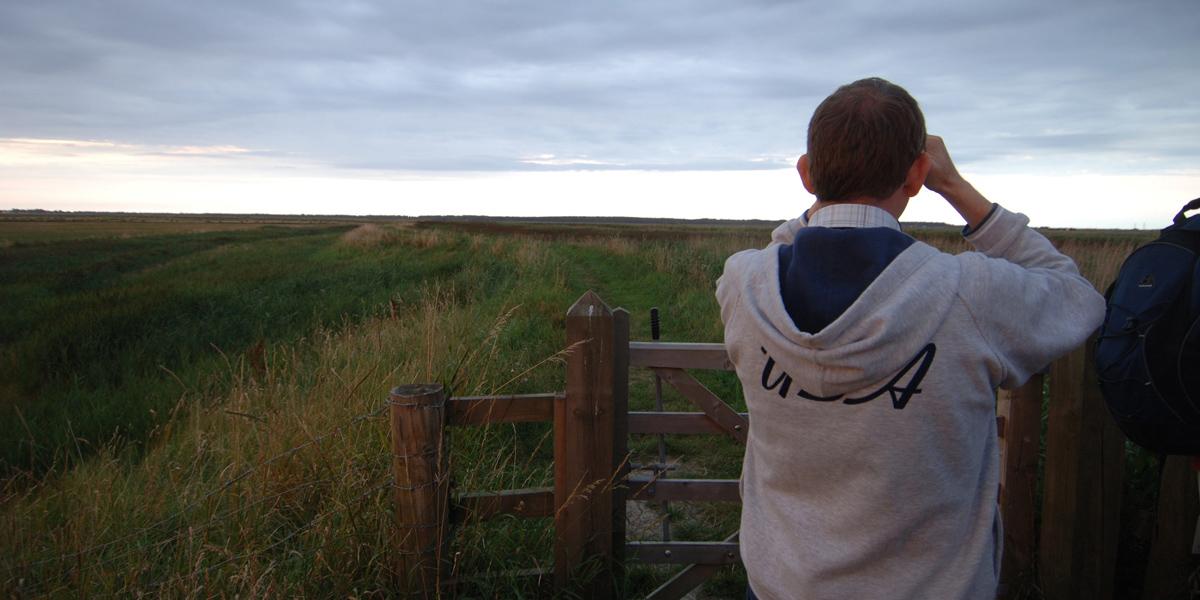 walking at reedham 2 by Simon Finlay