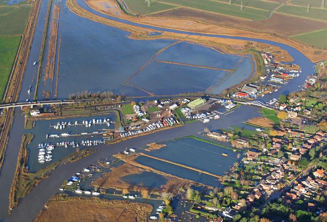 Flood at St Olaves, December 2013
