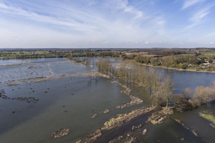 flooding at geldeston