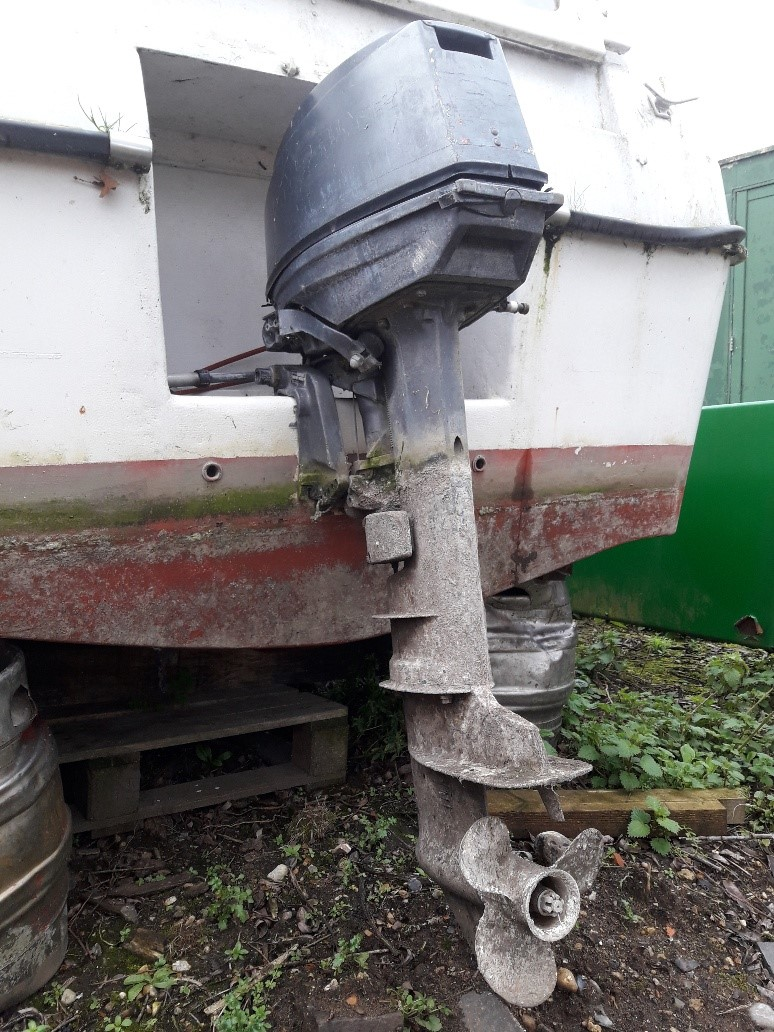 The outboard motor for sale