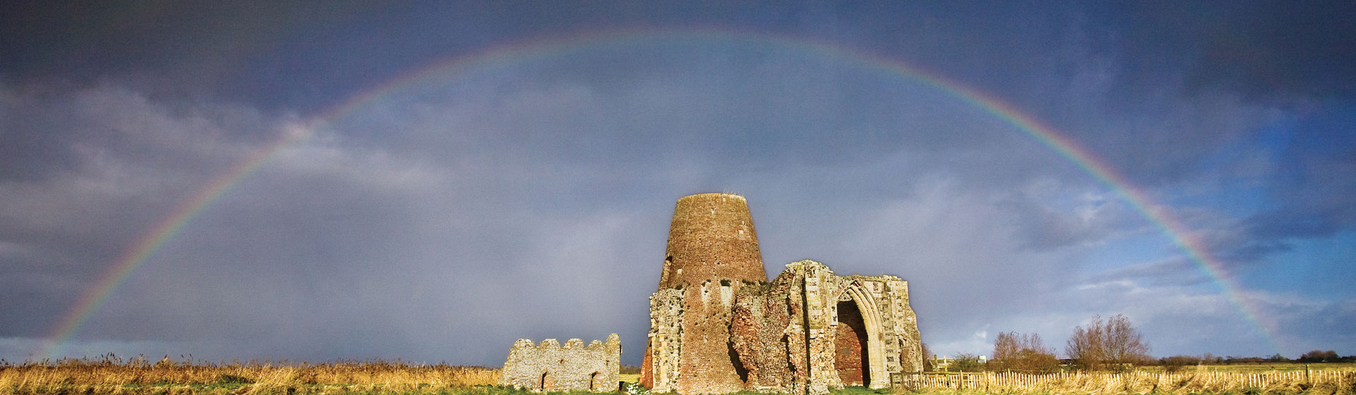St Benet's Abbey on the River Bure